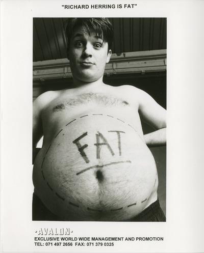 Richard Herring is fat
