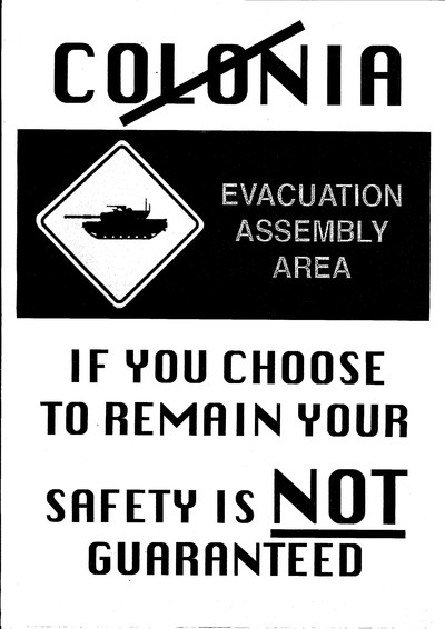 Poster used during Coney's Early Days of a Better Nation