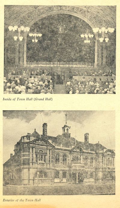 Old Town Hall picture 1964