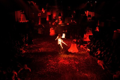 The Masque of the Red Death, Production photos