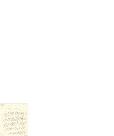 Brev, 1843 02.03, [Christiania], til Ole Bull