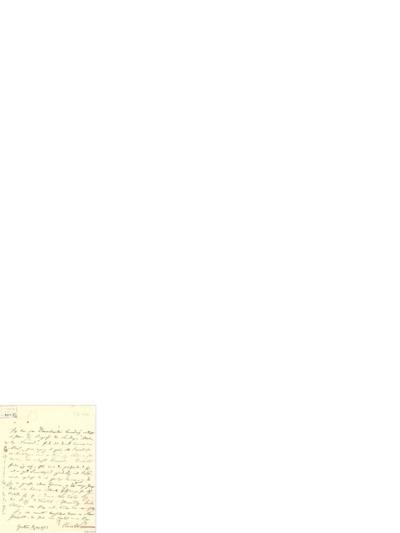 Brev, 1843 08.31, [Christiania], til Ole Bull