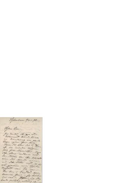 Brev, 1892 06.07, Kjøbenhavn, til Edvard Grieg