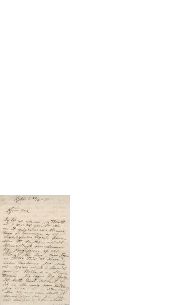 Brev, 1895 06.22, Kjøbenhavn, til Edvard Grieg