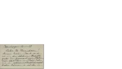Brev, 1929 01.16, Københanv, til Henri Hinrichsen