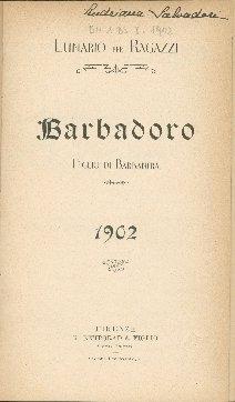 Lunario per ragazzi Barbadoro figlio di Barbanera