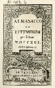 Almanacco ed effemeridi per l'anno ...