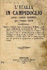 L'Italia in Campidoglio : lunario satirico illustrato per l'anno ...
