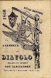 La lanterna del diavolo : almanacco satirico con caricature