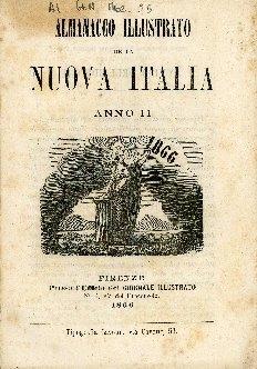 Almanacco illustrato della nuova Italia colle predizioni astronomiche di Marco Dell'Umbria