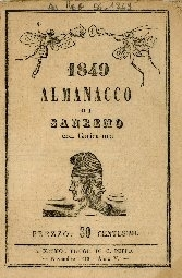 Almanacco di Sanremo con caricature