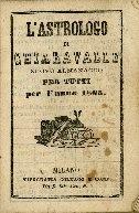 L'astrologo di Chiaravalle : nuovo almanacco per tutti per l'anno ...