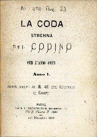 La coda : strenna del codino per l'anno 1873