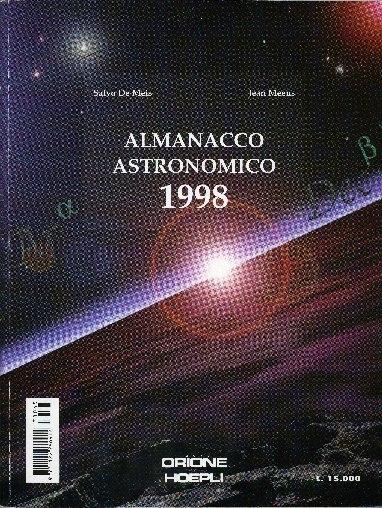 Almanacco astronomico ... : effemeridi e fenomeni astronomici