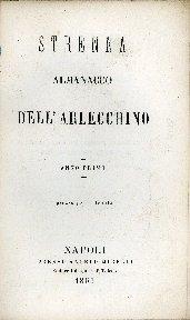 Strenna almanacco dell'Arlecchino