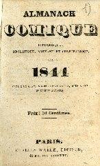 Almanach comique, pittoresque, drolatique, amusant et charivarique : calembourgs, coq-à-l'âne, bêtises ...