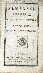 Almanach imperial de la 28. division militaire pour l'an ...