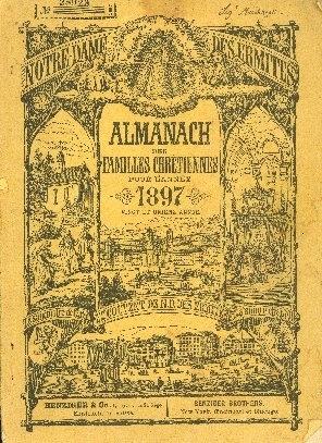 Almanach des familles chrétiennes pour l'année ...