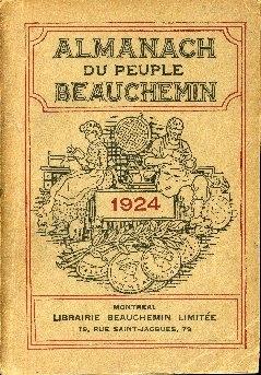 Almanach du peuple Beauchemin pour ...
