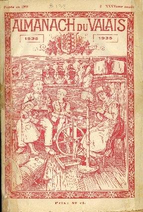 Almanach du valais