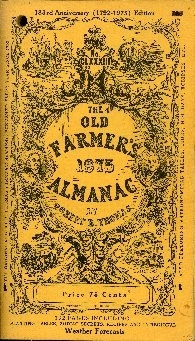 The Old farmer's almanac calculated on a new and improved plan for the year of our Lord ...
