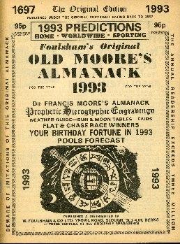 Foulsham's original Moore's Almanack