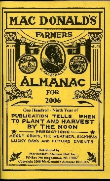 Mac Donald's farmers almanac for ...