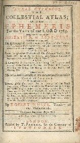 Atlas oyranios = The coelestial Atlas, or A new ephemeris for the year of our Lord ...