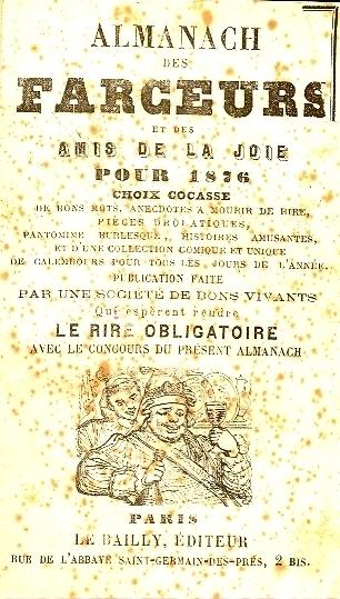 Almanach des farceurs et des amis de la joie pour ...