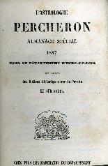 L'astrologue Percheron : almanach spécial ...