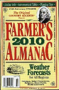 Farmer's almanac : the original Country accents Magazine