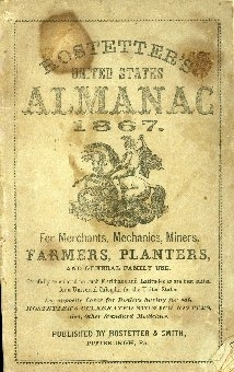 Hostetter's United States Almanac ... : for merchants, mechanics, miners, farmers, planters and general family use
