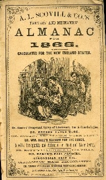 A. L. Scovill & Co.'s farmers' and mechanics' almanac for ...
