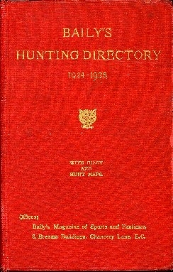 Baily's hunting directory