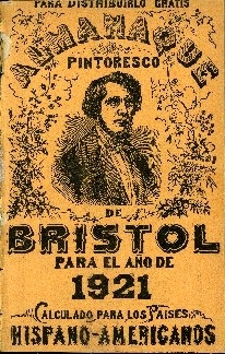 Almanaque pintoresco de Bristol para el año ... : calculados para los paises Hispano-Americanos