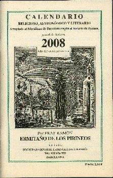 Calendario religioso, astronómico y literario : arreglado al Meridiano de Barcelona según el horario de España