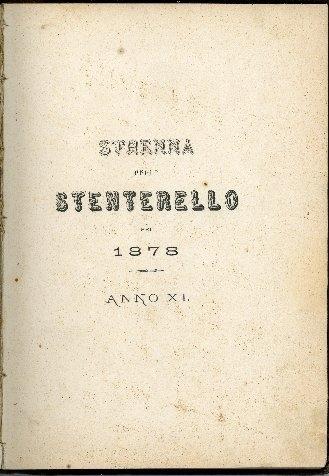 Strenna dello Stenterello