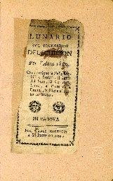 Almanacco perpetuo con la terza parte et fisionomia naturale dell'istesso autore di Rutilio Benincasa