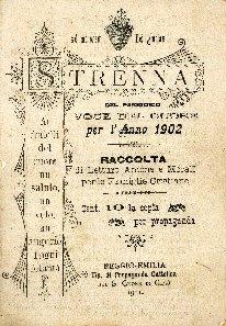 Strenna del periodico Voce del cuore di Reggio-Emilia per l'anno ... : raccolta di letture amene e morali per le famiglie cristiane