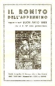 Il romito dell'Appennino : almanacco universale