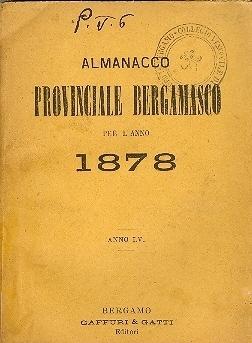 Almanacco provinciale bergamasco per l'anno ...