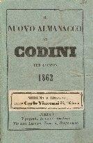Il nuovo almanacco dei codini : per l'anno ...