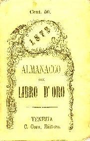 Il libro d'oro : almanacco per l'anno ...