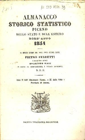 Almanacco storico statistico piceno, dello stato e dell'estero dell'anno ...