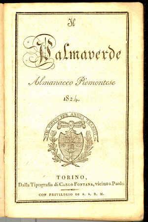 Il palmaverde : almanacco piemontese