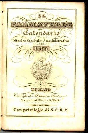 Il palmaverde : calendario storico-statistico-amministrativo