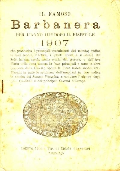 146: Per l'anno 3. dopo il bisestile 1907