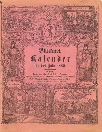 Bündner Kalender : für das Jahr ...