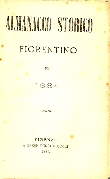 Almanacco storico fiorentino pel ...
