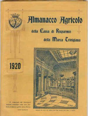 Almanacco agricolo della Cassa di Risparmio della Marca Trivigiana